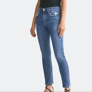 Agolde Toni Straight Ankle Jeans Stratosphere 29